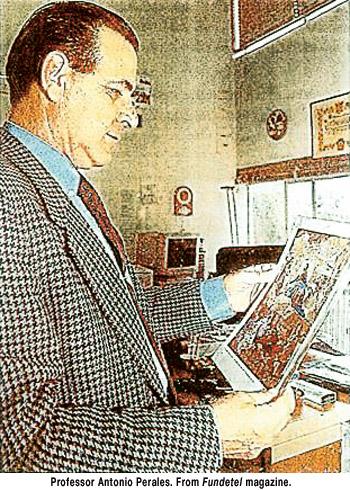 PROFESSOR ANTONIO PERALES